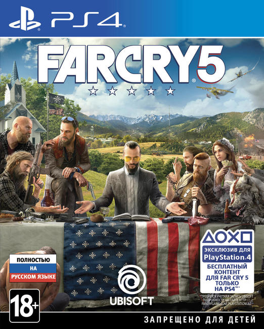 Игра Far Cry 5 (PS4)