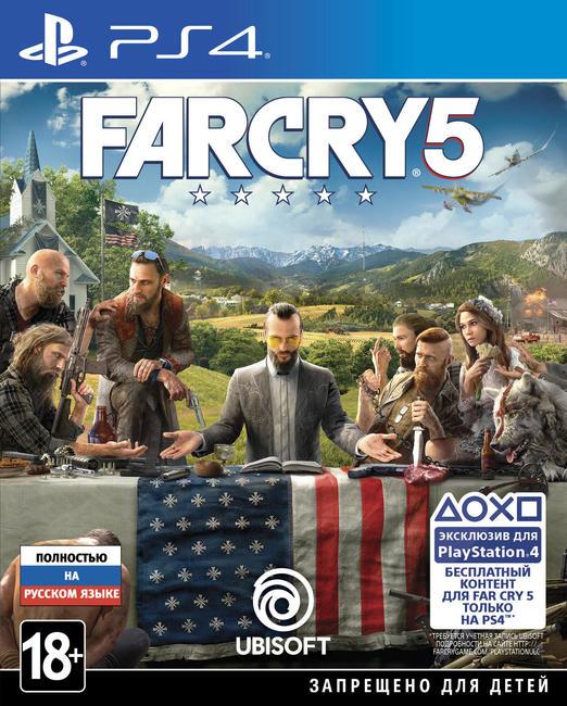 Игра Far Cry 5 (PS4)