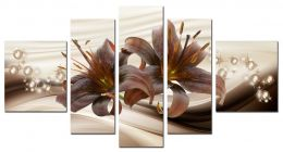 Шоколадные лилии