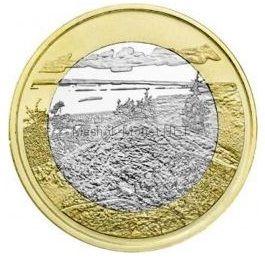 Финляндия, 5 евро 2018, Национальный парк Коли