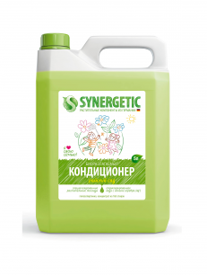 """""""Synergetic"""" Биоразлагаемый кондиционер-ополаскиватель для белья SYNERGETIC: райский сад, 5л."""