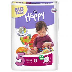 Подгузники Bella baby Happy 12-25кг 58шт