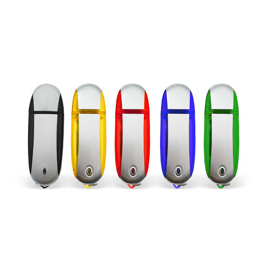 32GB USB-флэш корпус для флешки UsbSouvenir U204, Зеленый  серебро