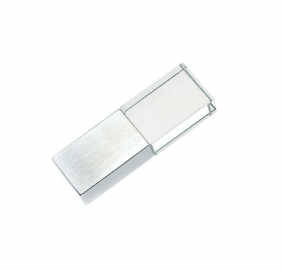 64GB USB-флэш накопитель Apexto UG-001 стеклянный, желтый LED