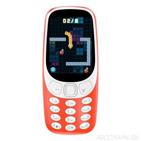 Легендарный мобильный телефон 3310 (2017 г)
