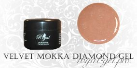VELVET MOKKA DIAMOND  ROYAL GEL 15 мл