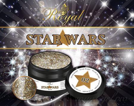 SW02 STAR WARS ROYAL гель краска  5 мл.