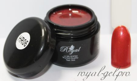 HR06 Royal HROMATIC гель цветной 5 мл.