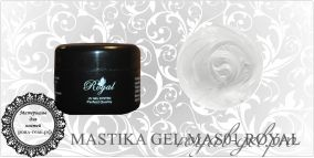 MAS01 WHITE MASTIKA ROYAL GEL 5 мл.