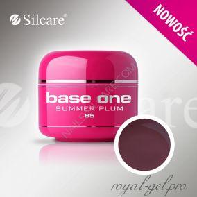 Цветной гель Silcare Base One Color Summer Plum *85 5 гр.