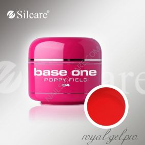 Цветной гель Silcare Base One Color Poppy Field *84 5 гр.