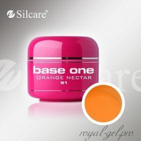 Цветной гель Silcare Base One Color Orange Nectar *81 5 гр.