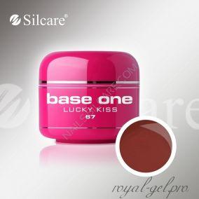 Цветной гель Silcare Base One Color Lucky Kiss *67 5 гр.
