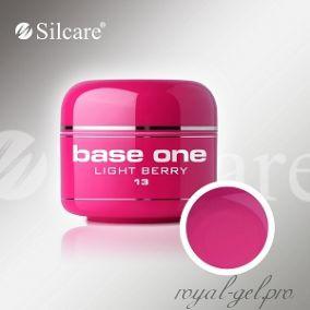 Цветной гель Silcare Base One Color Light Berry *13 5 гр.