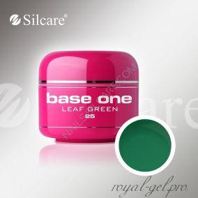 Цветной гель Silcare Base One Color Leaf Green *25 5 гр.
