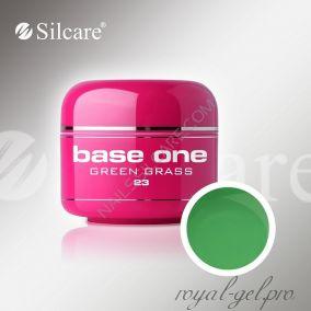 Цветной гель Silcare Base One Color Green Grass *23 5 гр.
