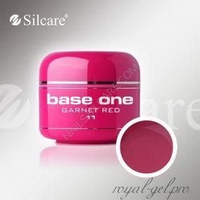 Цветной гель Silcare Base One Color Garnet Red *11 5 гр.