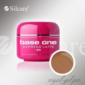 Цветной гель Silcare Base One Color Express Latte *64 5 гр.