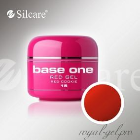 Цветной гель Silcare Base One Red Cookiey *15 5 гр.