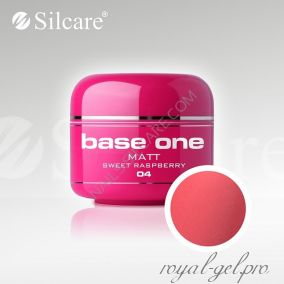 Цветной гель Silcare Base One Matt Sweet Raspberry *04 5 гр.