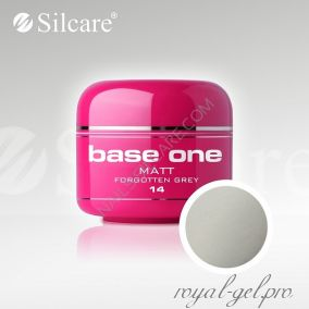 Цветной гель Silcare Base One Matt Forgotten Grey *14 5 гр.