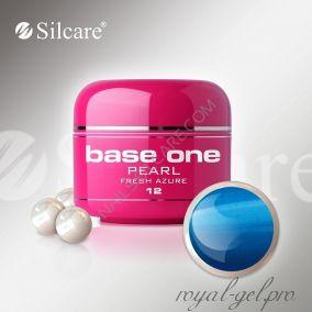Цветной гель Silcare Base One Pearl Fresh Azure *12 5 гр.