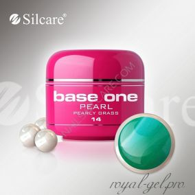 Цветной гель Silcare Base One Pearl Pearly Grass *14 5 гр.
