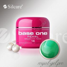 Цветной гель Silcare Base One Pearl Brazilian Tone *15 5 гр.