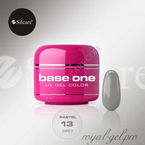 Цветной гель Silcare Base One Pastel Grey *13 5 гр.
