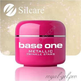 Цветной гель Silcare Base One Metallic Twinkle Stars *13 5 гр.
