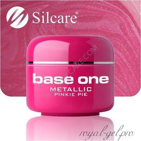 Цветной гель Silcare Base One Metallic Pinky Pop *35 5 гр.