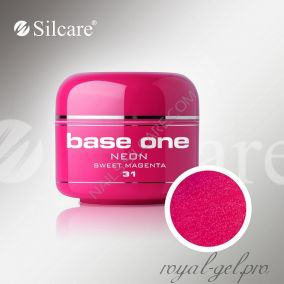 Цветной гель Silcare Base One Neon Sweet Magenta *31 5 гр.