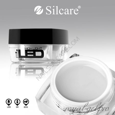 Gel High Light LED Clear Silcare 4 гр