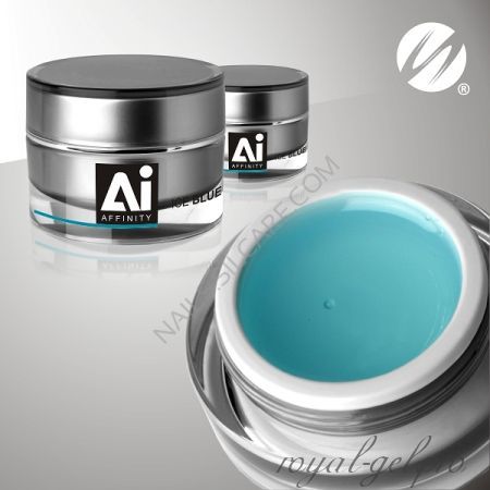 Gel Affinity Ice Blue Silcare 15 гр