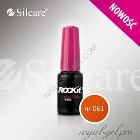Гель лак Silcare Rock`IT 8 гр color 61