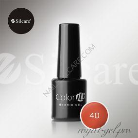 Гель лак Silcare Hybryd Color`IT 8 гр №040