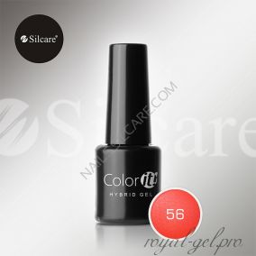 Гель лак Silcare Hybryd Color`IT 8 гр №056