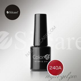 Гель лак Silcare Hybryd Color`IT 8 гр №240А