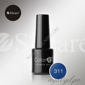 Гель лак Silcare Hybryd Color`IT 8 гр №311