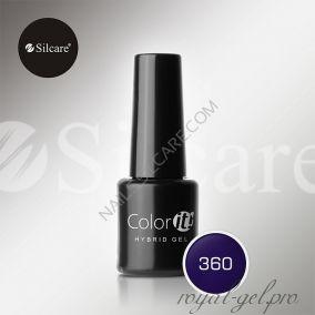 Гель лак Silcare Hybryd Color`IT 8 гр №360