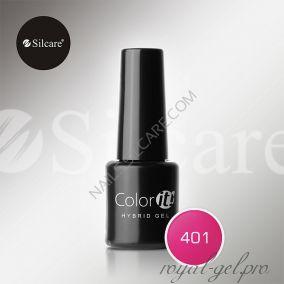 Гель лак Silcare Hybryd Color`IT 8 гр №401