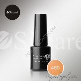 Гель лак Silcare Hybryd Color`IT 8 гр №480