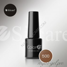 Гель лак Silcare Hybryd Color`IT 8 гр №500