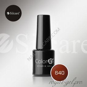 Гель лак Silcare Hybryd Color`IT 8 гр №640
