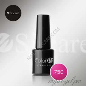 Гель лак Silcare Hybryd Color`IT 8 гр №750