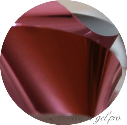 Фольга для литья и кракелюра 19 Royal розовый глянец