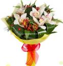 Букет Свежие орхидеи