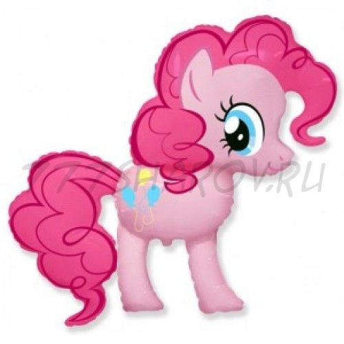 """Шар """"Пони Пинки пай"""" розовый 91 см"""