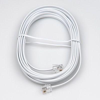 Телефонный удлинитель Dialog CT-0130 белый 3 м