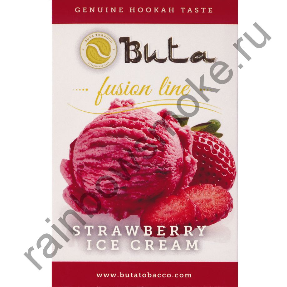 Buta Fusion 50 гр - Strawberry Ice Cream (Клубничное мороженое)